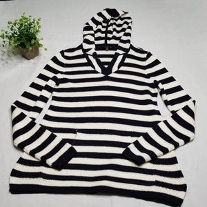 Talbots Size Small Hooded Pullover Sweater EE44